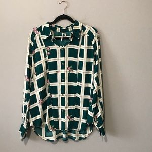NWT Free People Button up